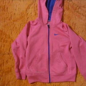 Girls size 4 Nike zip up jacket